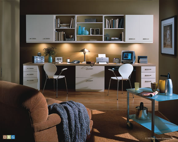 Home Office Solutions  Custom Closet Systems Inc
